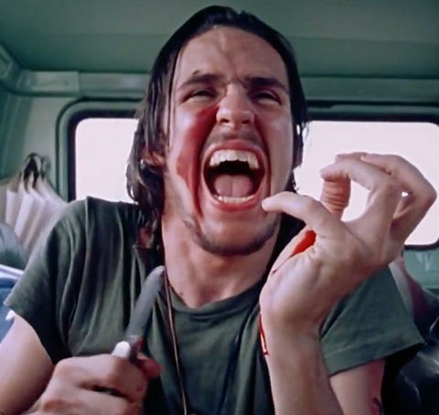 Edwin Neal is best known for playing the crazy knife-wielding Hitchhiker -- opposite Marilyn Burns as Sally -- in the classic 1974 horror film 'Texas Chain Saw Massacre.'