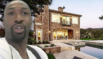 Gilbert Arenas -- Unloads Calabasas Mansion ... Guess Who Can Afford Private School?!