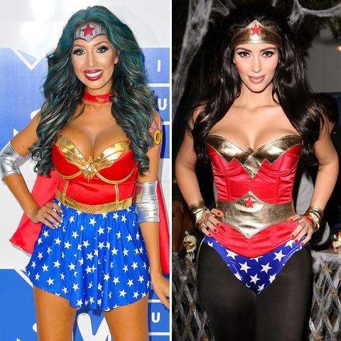 Wonder Woman!! Farrah Abraham (25) vs. Kim Kardashian (36)