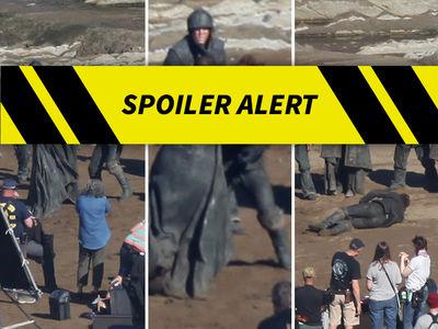 'Game of Thrones' Set Pics -- Blood, Guts & Mutilated Genitals! (SPOILER ALERT)