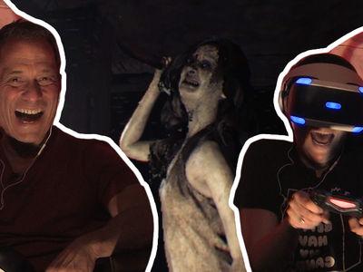 'Resident Evil 7' Visits Resident Evil TMZ (TERRIFYING VIDEO)