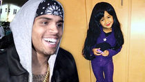 Chris Brown's Daughter -- Selena's Family Beaming After Royalty Homage