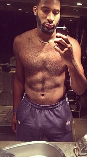 Andre Drummond's Shirtless Photos