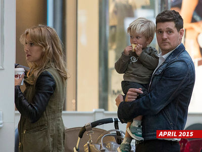 Michael Buble -- 3-Year-Old Son Diagnosed with Cancer