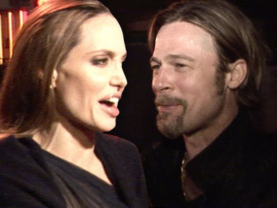 Angelina Jolie -- Brad's Dreaming ... He's Not Getting Joint Custody