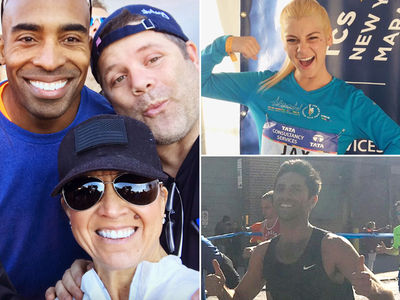 Tiki Barber -- Destroyed In NYC Marathon ... By Dude from 'Catfish' (PHOTO GALLERY)