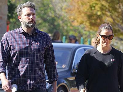 Ben Affleck, Jennifer Garner -- Couples Who Vote Together ... Stay Together? (PHOTO)
