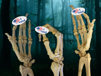 Election Day 2016 -- Election Night of the Living Dead ... Voter Fraud Alive and Well