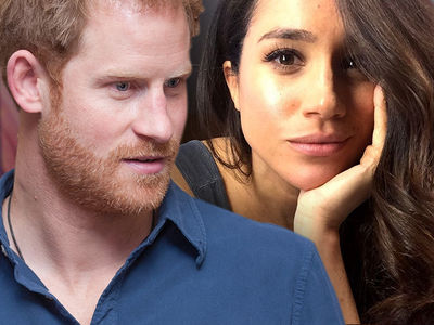 Prince Harry -- Dear Peasants, Leave My Boo Alone ... You're Being a Royal Pain