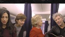 Hillary Clinton -- Mannequin Challenge Complete ... With Bon Jovi & Huma Abedin (VIDEO)