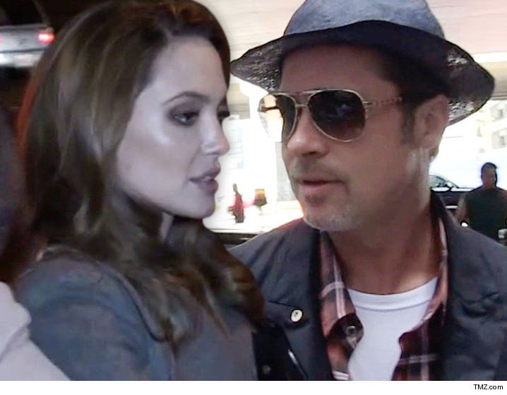 Angelina Jolie Is Chomping At The Bit To Prove Brad Pitt Abused At Least One Of His Kids And She Thinks The Divorce Judge Will Believe Her Allegations And