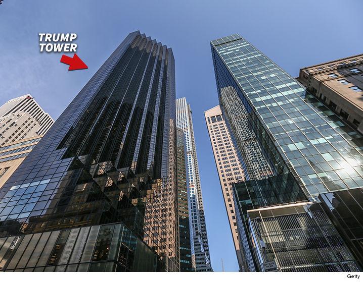 No-Fly Zone Over Trump Tower | TMZ.com