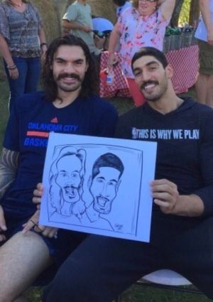Enes Kanter and Steven Adams -- Let Me Tell You 'Bout My Best Friend