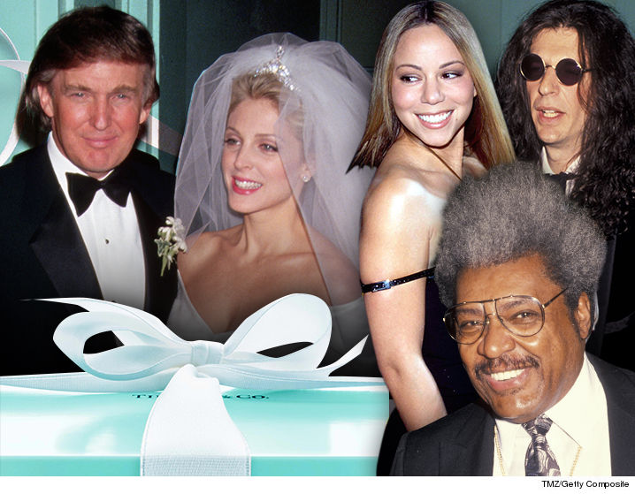 Donald Trump Marla Maples Wedding Registry Tmz Com