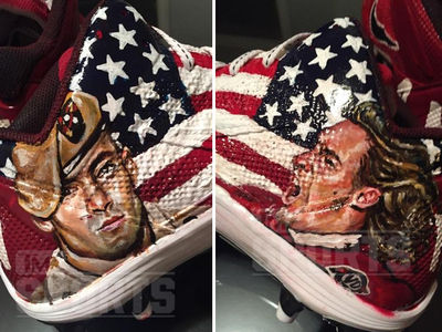 NFL's Antonio Brown -- New Cleat Tribute ... PAT TILLMAN! (PHOTO GALLERY)