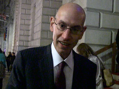 NBA's Adam Silver -- 'Roger Goodell's Got a Tough Job' (VIDEO)