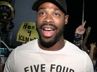 Rams' Kenny Britt -- Holds Rally In L.A. ... PUT ME IN THE PRO BOWL! (VIDEO)