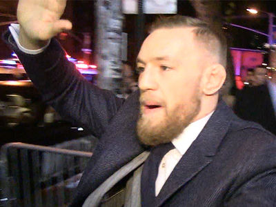 Conor McGregor -- The Champ Is Here ... Let the After-Party Begin! (VIDEO + PHOTO)