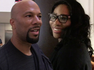 Serena Williams -- Back With Common? Exes Kicked It in Compton (PHOTOS)