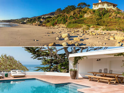 Cindy Crawford & Rande Gerber -- Our Slice of Malibu ... Yours for $60 Million (PHOTO GALLERY)