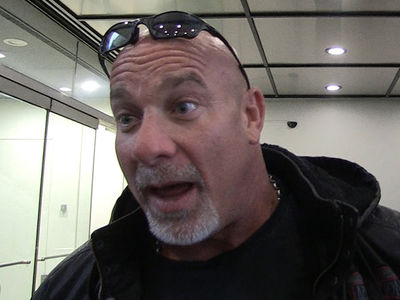 Goldberg To Brock Lesnar -- I Dare You To Elbow Me ... I Ain't No Bitch (VIDEO)