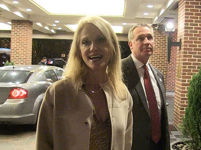 Kellyanne Conway -- Hey, I Broke the Glass Ceiling, So Get Involved, Girls!!! (VIDEO)