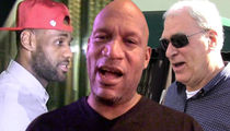 Ron Harper -- 'Phil Jackson Is No Racist' ... 'This Story Is Dumb & Stupid'