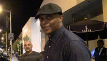 Eddie George -- Street Heckled By 'Drunk' Jay Glazer (VIDEO)