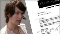 Lena Headey -- Ultimate Doctor's Note ... We Need You in Europe for 'Game of Thrones'