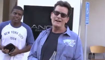 Charlie Sheen -- Brooke & Kids Are Good ... It Could've Been Much Worse (VIDEO)