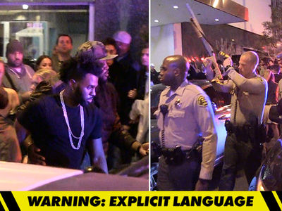 Jason Derulo -- Jumps into Insane Nightclub Fight (VIDEO)