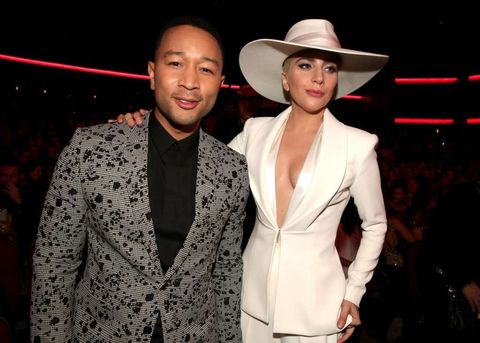 John Legend and Lady Gaga