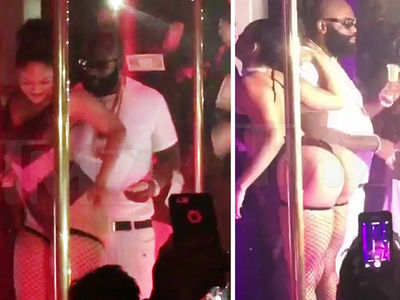 Rick Ross -- Quiet Storm on L.A. Strippers (VIDEO)
