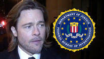 Brad Pitt -- Cleared by FBI in Maddox Jet Incident