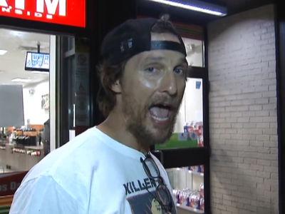 Matthew McConaughey -- I Got Charlie Strong's Back ... Texas Gonna Whoop TCU's Ass (VIDEO)