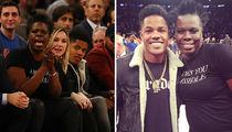 Leslie Jones -- Rocks 'A-Hole' Shirt to Knicks Game ... Sits Courtside (PHOTOS)