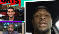NFL's Le'Veon Bell -- Sorry, Dame Lillard ... I'M THE BEST RAPPING ATHLETE AROUND (VIDEO)