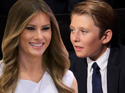 Melania & Barron Trump -- YouTuber Deletes 'Autistic' Video, Profusely Apologizes (VIDEO)
