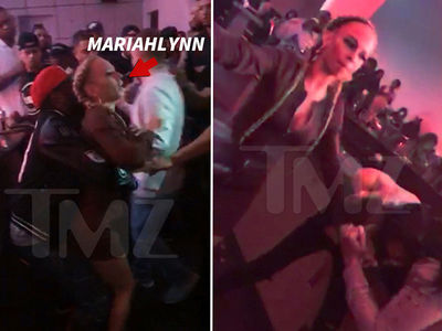 'Love & Hip Hop NY' -- Chicks Brawl at Viewing Party (VIDEO)