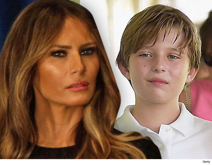 Melania & Barron Trump YouTuber Cashes in With Apology