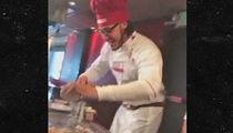 Broncos' Linebacker Shane Ray -- HIBACHI, PLEASE ... I'm a Benihana Chef Now! (VIDEO)