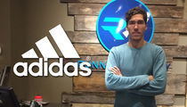 Beer Mile -- Record Holder Lands Shoe Deal ... With ADIDAS!!