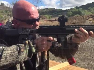 Stone Cold Steve Austin -- 3:16 Goes 9MM at Tactical Gun Range (VIDEO + PHOTO)