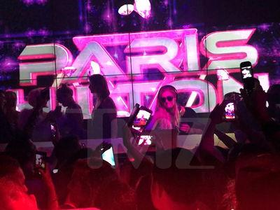 Paris Hilton -- Party Foul! Who Dumped Their Vodka on My DJ Gear?? (VIDEO)