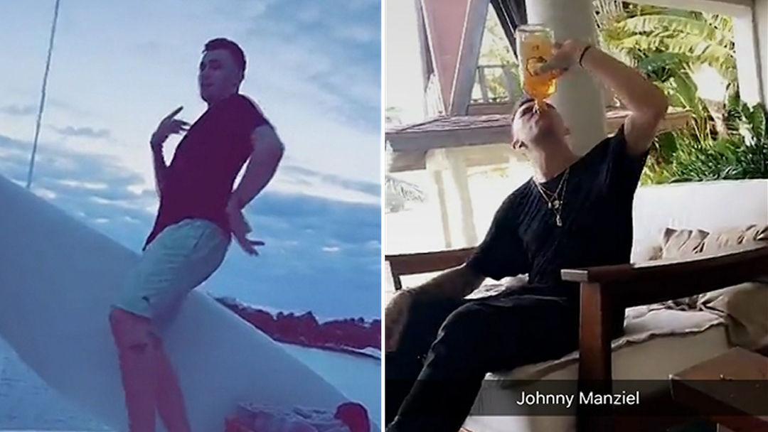 Johnny Manziel Chuggin\' Fireball at 8AM   TMZ.com
