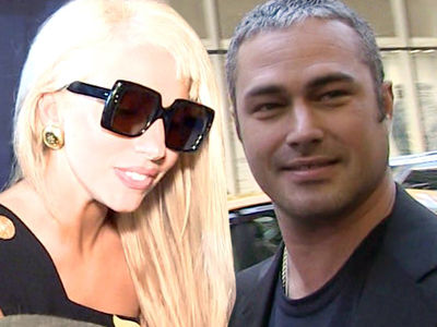 Lady Gaga and Taylor Kinney -- Some Exes Don't Talk ... We're Different (PHOTO)