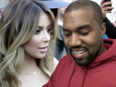 Kim Kardashian & Kanye West -- No Divorce in the Works