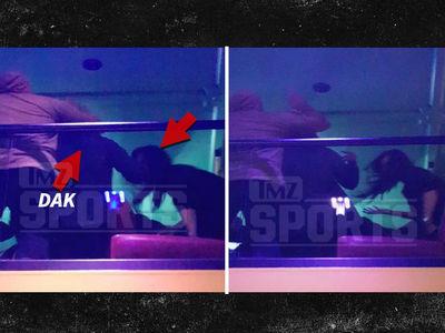 Dak Prescott -- Hits Clubgoer with Accidental Elbow ... Immediately Apologizes (VIDEO)