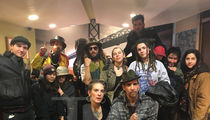 Oakland Fire -- Survivors Reunite with Commune Leader (PHOTOS)