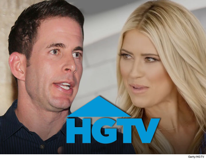 43b8857f1 Tarek and Christina El Moussa will still have to grin and bear seeing each  other s faces after their separation -- HGTV s decided to keep shooting